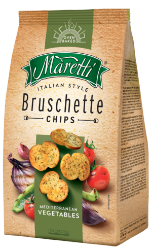 Bruschette Mediterranean Vegetables 70g